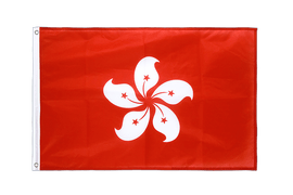 Hong Kong - Grommet Flag PRO 2x3 ft