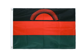 Malawi new Grommet Flag PRO - 2x3 ft
