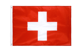 Switzerland - Grommet Flag PRO 2x3 ft