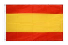 Spain without crest Grommet Flag PRO - 2x3 ft
