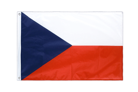 Czech Republic Grommet Flag PRO - 2x3 ft