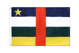 Central African Republic - Grommet Flag PRO 2x3 ft