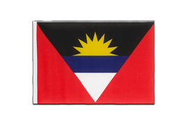 Antigua and Barbuda - Little Flag 6x9""