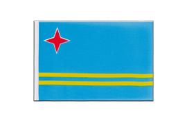Aruba - Little Flag 6x9""