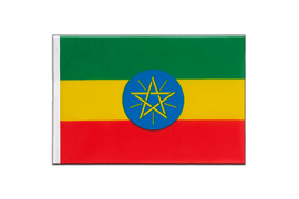 Ethiopia with star - Little Flag 6x9""