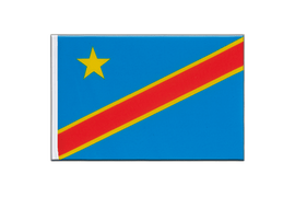 Democratic Republic of the Congo - Little Flag 6x9""