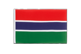Gambia Mini Flag - 6x9""