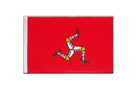 Isle of man - Little Flag 6x9""