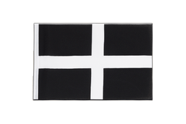 St. Piran Cornwall Mini Flag - 6x9""