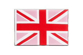Union Jack pink - Little Flag 6x9""