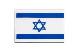 Israel - Little Flag 6x9""