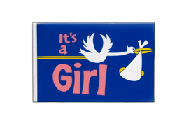 It's a girl - Little Flag 6x9""
