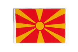 Macedonia - Little Flag 6x9""
