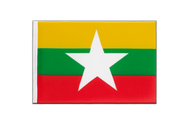 Myanmar new - Little Flag 6x9""