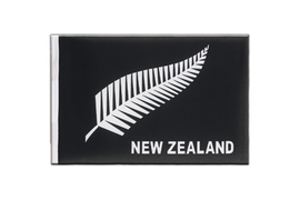 Fanion Nouvelle-Zélande Plume All Blacks - 15 x 22 cm