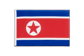 North corea Mini Flag - 6x9""