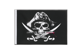 Pirate with bloody sabre - Little Flag 6x9""