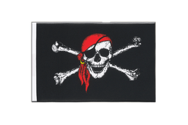 Pirate with bandana - Little Flag 6x9""