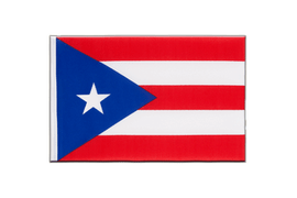 Puerto Rico - Little Flag 6x9""