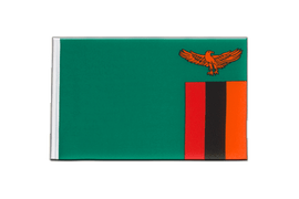Zambia - Little Flag 6x9""