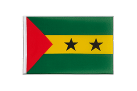Sao Tome and Principe - Little Flag 6x9""