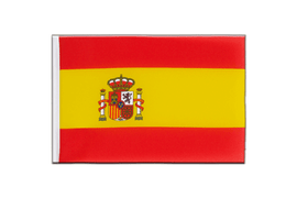 Spain with crest - Little Flag 6x9""