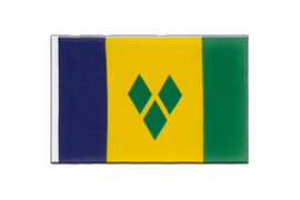 Fanion Saint Vincent et les Grenadines - 15 x 22 cm