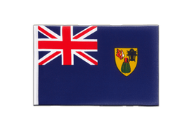 Turks and Caicos Islands - Little Flag 6x9""