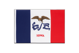 Iowa - Little Flag 6x9""
