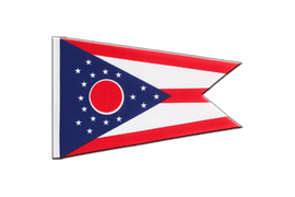 Ohio - Little Flag 6x9""