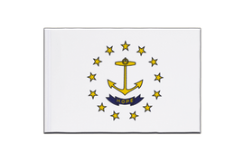 Rhode Island - Little Flag 6x9""