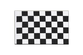 Checkered - Little Flag 6x9""