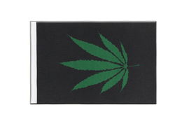 Cannabis Reggae - Satin Flag 6x9""