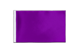 Purple - Satin Flag 6x9""