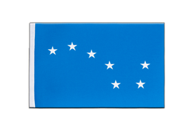 Starry Plough - Satin Flagge 15 x 22 cm