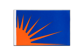 Sunburst - Satin Flag 6x9""