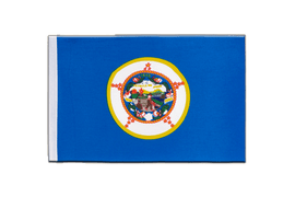 Minnesota - Satin Flag 6x9""
