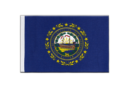 New Hampshire - Satin Flagge 15 x 22 cm