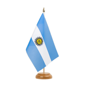 "Argentina - Table Flag 6x9"", wooden"