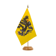 "Flanders Table Flag - 6x9"", wooden"