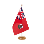 "Bermuda - Table Flag 6x9"", wooden"