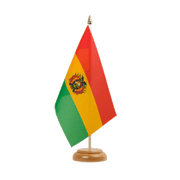 "Bolivia - Table Flag 6x9"", wooden"