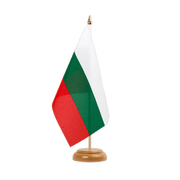 "Bulgaria - Table Flag 6x9"", wooden"