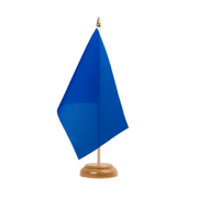"Blue - Table Flag 6x9"", wooden"