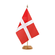 "Savoy - Table Flag 6x9"", wooden"