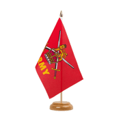 "British Army - Table Flag 6x9"", wooden"