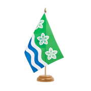 "Cumbria - Table Flag 6x9"", wooden"