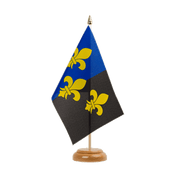 "Great Britain Monmouthshire - Table Flag 6x9"", wooden"