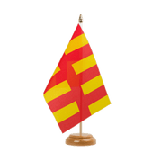 "Northumberland - Table Flag 6x9"", wooden"