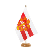 "Westmorland - Table Flag 6x9"", wooden"